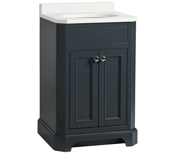 Additional image of Tavistock Vitoria Floor Standing 600mm Vanity Unit With Underslung Basin