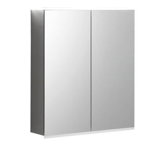 Geberit Option Plus 600 x 172mm Double Door Mirror Cabinet With LED Lighting