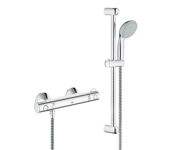 Grohe Grohtherm 800 Thermostatic Shower Mixer Valve With Set