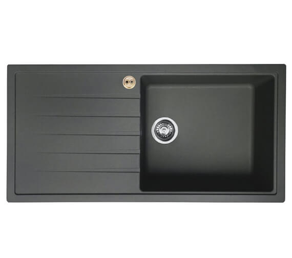 Additional image of Bristan Gallery Quartz Easyfit 1.0 Kitchen Sink - GLL SKQUA1 BL
