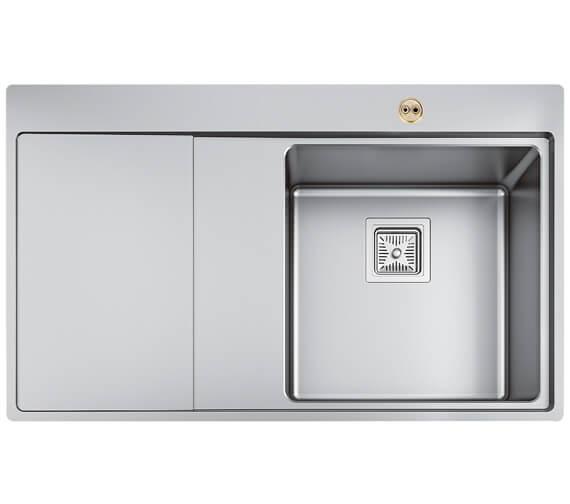 Bristan Ingot 1.0 Stainless Steel Easyfit Kitchen Sink - SK ING1 SL