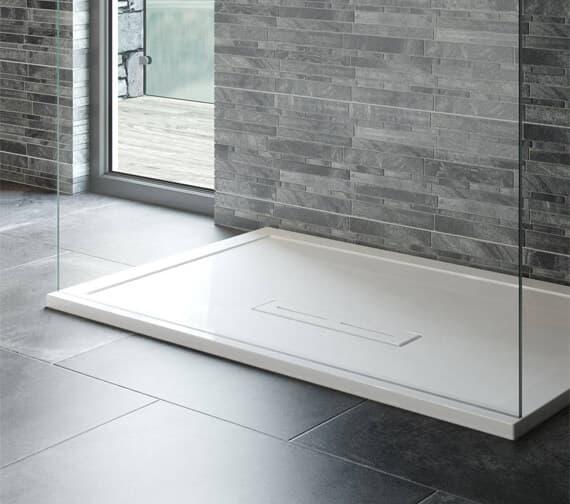 Alternate image of Kudos Shower Trays For Ultimate Flat Glass Panel