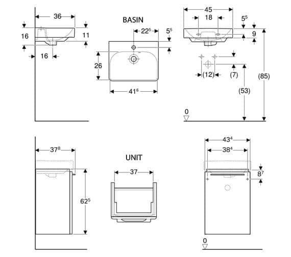 Technical drawing QS-V93728 / 500.242.01.1