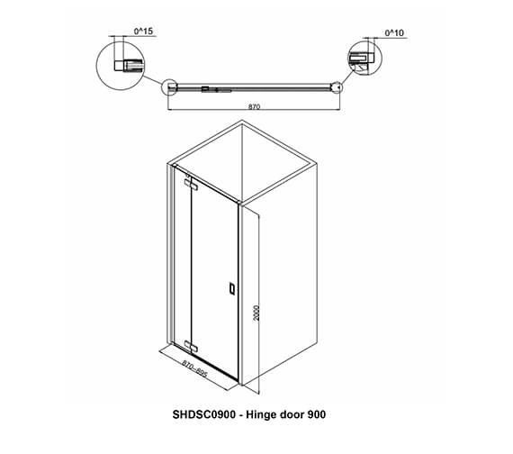 Additional image of Crosswater   SHDSC0800