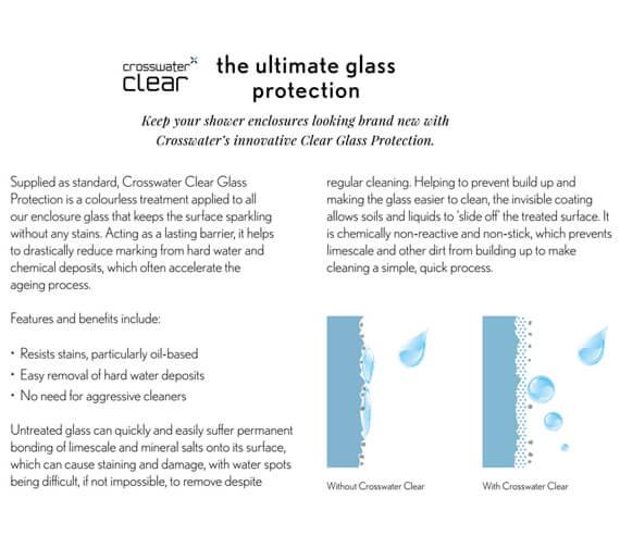 Alternate image of Crosswater Svelte Single Door Quadrant Enclosure 800mm