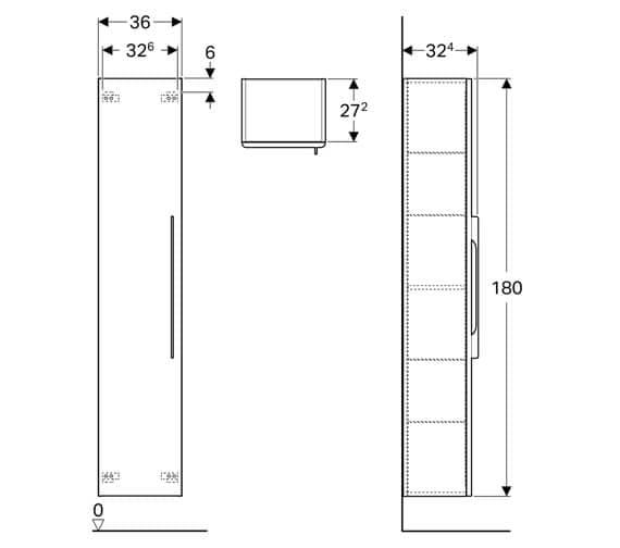 Technical drawing QS-V93727 / 500.241.01.1