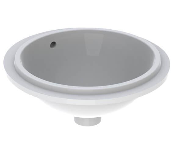 Geberit VariForm 390mm Round Undercounter Washbasin