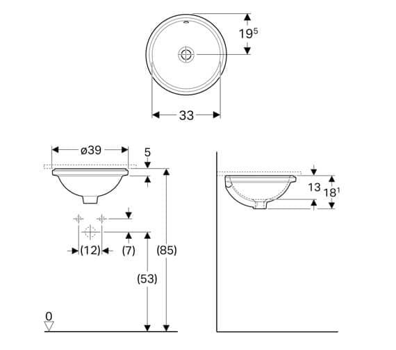 Technical drawing QS-V94622 / 500.744.01.2