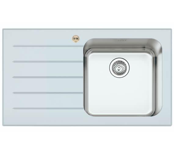 Additional image of Bristan Gallery Glacier Easyfit 1.0 Kitchen Sink - GLL SKGLA1 BL