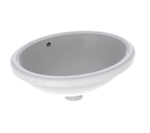 Geberit VariForm Oval Undercounter Washbasin