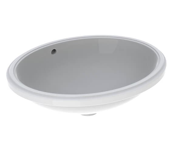 Additional image of Geberit VariForm Oval Undercounter Washbasin