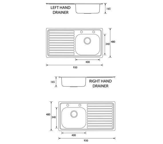 Technical drawing QS-V95420 / SK INXTT1 SL