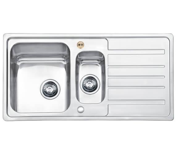 Bristan Index 1.5 Easyfit Kitchen Sink - SK INXSQ1.5 SU