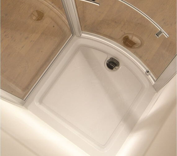 Kudos Concept Bowed Front Shower Tray