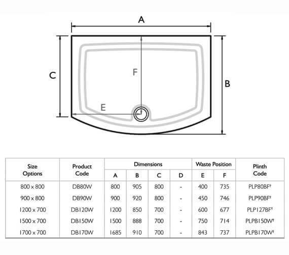 Technical drawing QS-V32088 / DB80W