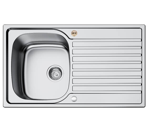 Bristan Inox 1.0 Easyfit Kitchen Sink - SK INXRD1 SU