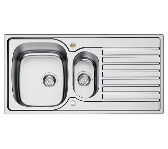 Bristan Inox 1.5 Easyfit Kitchen Sink - SK INXRD1 SU