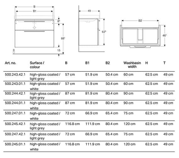 Technical drawing QS-V93729 / 500.243.01.1