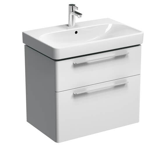 Additional image of Geberit Smyle Two Drawers Washbasin Unit
