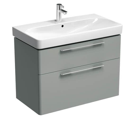 Alternate image of Geberit Smyle Two Drawers Washbasin Unit