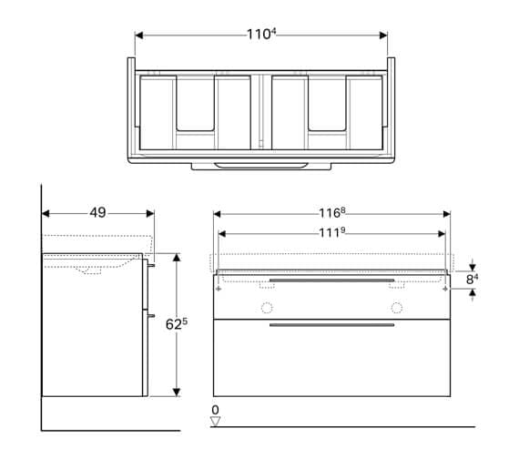 Technical drawing QS-V93730 / 500.246.01.1