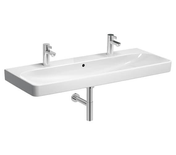 Alternate image of Geberit Smyle Square Washbasin White