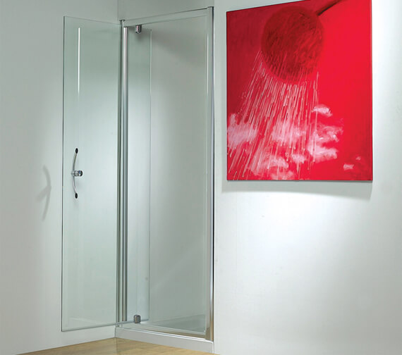 Kudos Original 1850mm High Straight Pivot Shower Door
