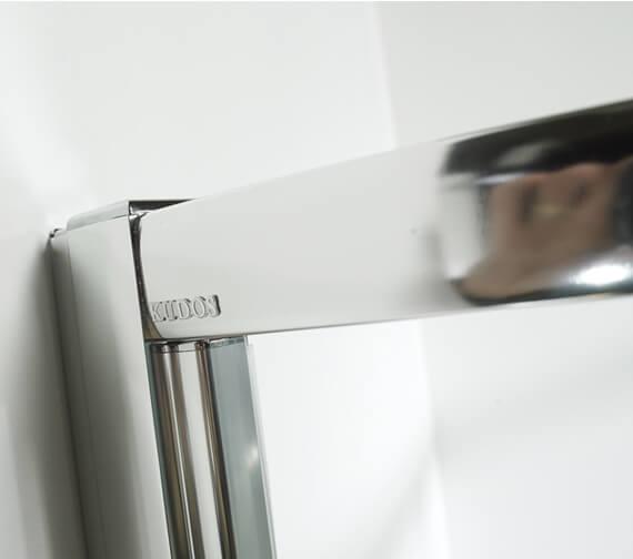 Alternate image of Kudos Original 1850mm High Straight Pivot Shower Door