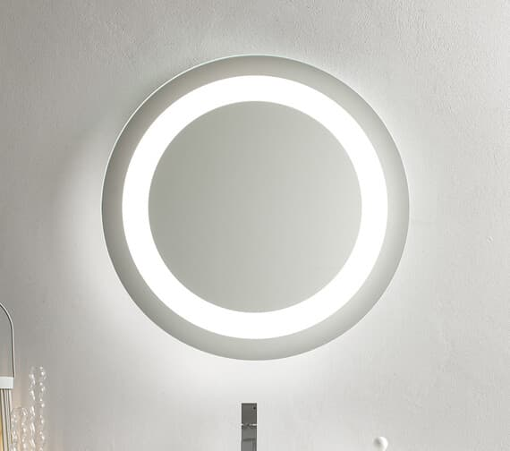 Bathroom Origins Halo Backlit LED Mirror - BT.0060.001.S
