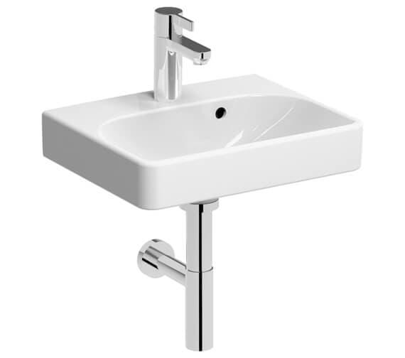 Geberit Smyle Square 450 x 360mm Handrinse Basin White