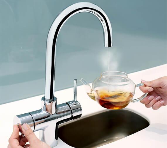 Bristan Gallery Rapid Boiling 3-In-1 Kitchen Sink Mixer Tap - GLL RAPSNK3 C