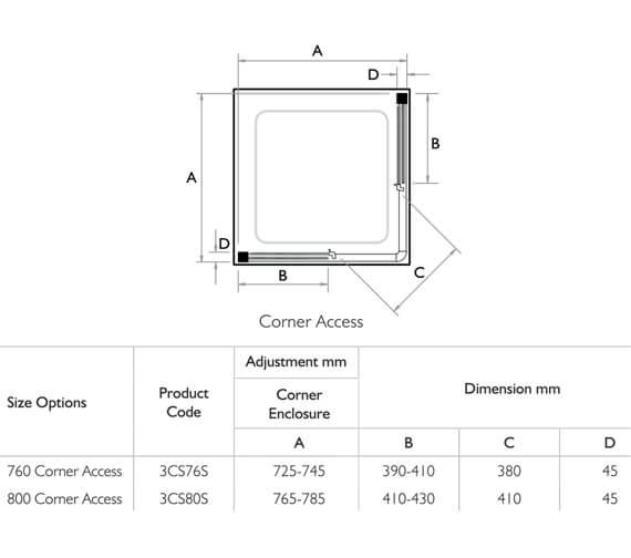 Technical drawing QS-V32038 / 3CS76S