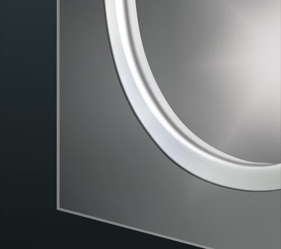 Alternate image of Bathroom Origins Solar Backlit LED Mirror - B004655