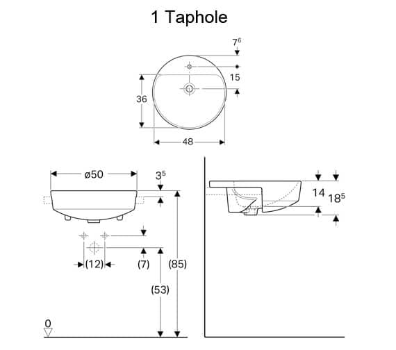 Technical drawing QS-V94633 / 500.782.01.1