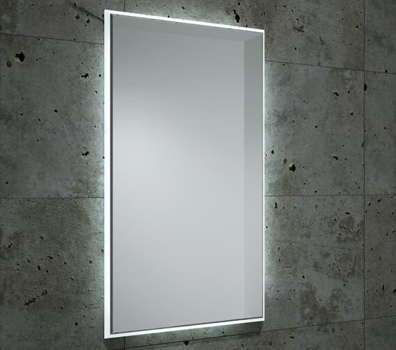 Bathroom Origins Fractal Backlit LED Mirror - B004679
