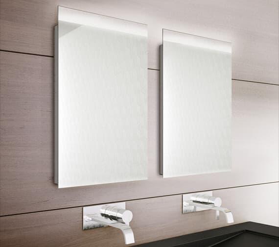Bathroom Origins Topline Backlit LED Mirror With Demister Pad - B006116