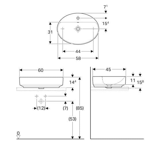 Technical drawing QS-V94636 / 500.772.01.2