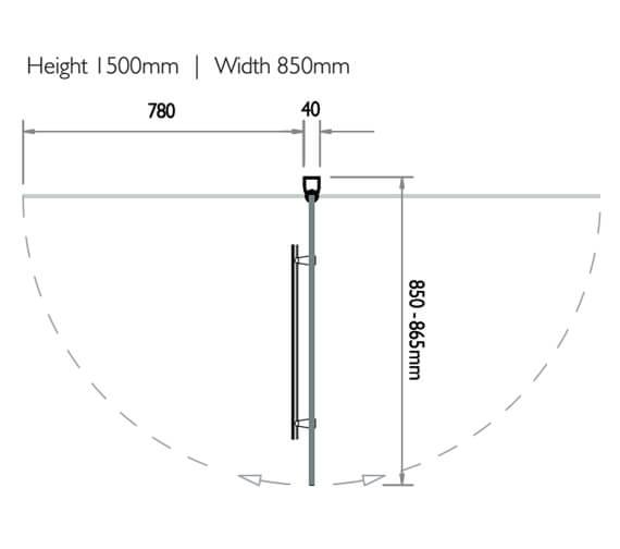 Technical drawing QS-V90770 / 3BASC6NHS