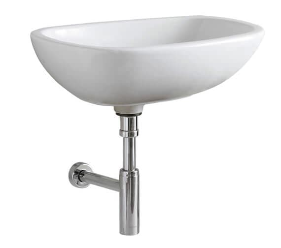 Geberit Citterio 560 x 400mm Lay-On Washbasin