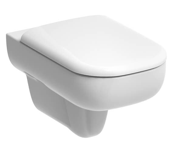 Geberit Smyle 350 x 540mm Wall-Hung Rimless Toilet