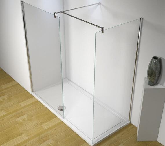 Kudos Ultimate Flat Panel Corner Shower Enclosure Pack