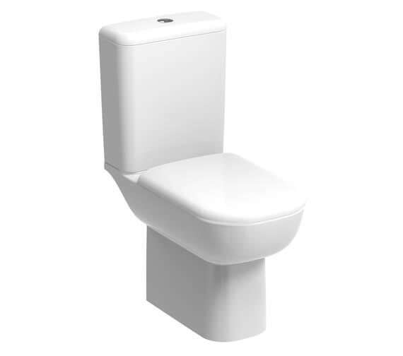Geberit Smyle 350 x 410mm Floor Standing Rimless WC Pan