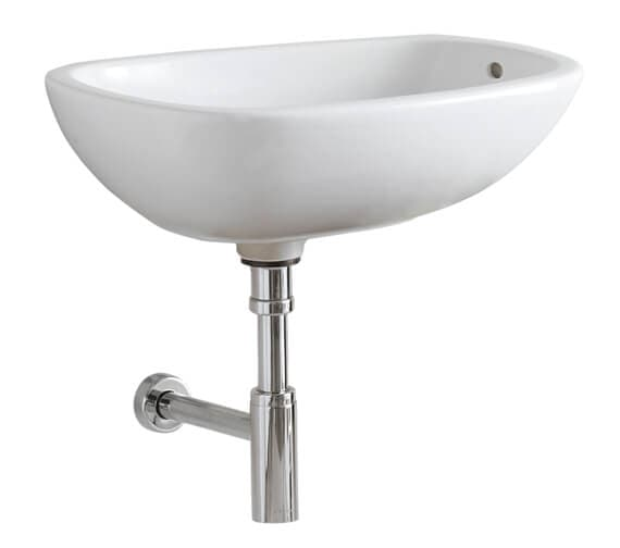Additional image of Geberit Citterio 560 x 400mm Lay-On Washbasin