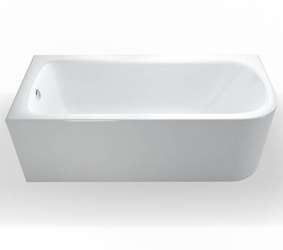 Additional image of Britton Viride Designer Offset Bath - 1800 x 750mm - R54