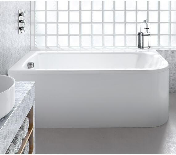 Britton Viride Designer Offset Bath - 1800 x 750mm - R54