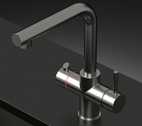 Alternate image of Astracast Plateau Twin Lever 3-In-1 Boiling Hot Water Tap