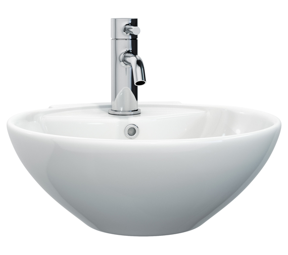 Miller 400mm Round Ceramic Basin - 174W1
