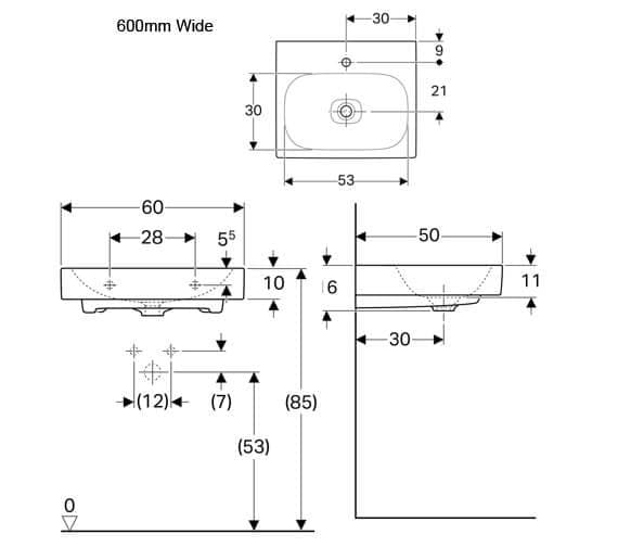 Technical drawing QS-V94640 / 500.544.01.1