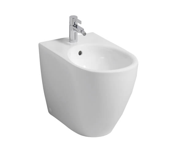 Geberit Icon 355 x 560mm Back To Wall Floorstanding Bidet