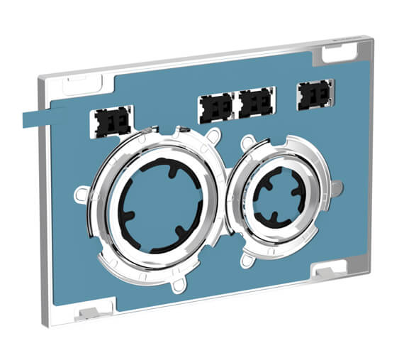 Geberit Sigma21 246 x 164mm Dual Flush Plate Customised